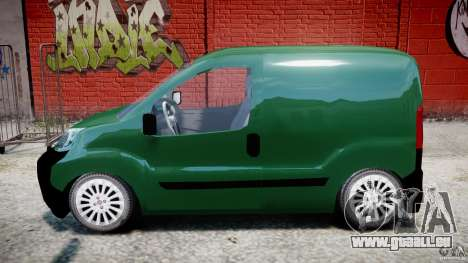 Fiat Fiorino 2008 Van pour GTA 4 est une gauche