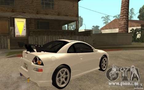 Mitsubishi Eclipse 2003 V1.5 pour GTA San Andreas vue de droite
