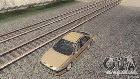 Renault Laguna RXE 1996 pour GTA San Andreas sur la vue arrière gauche