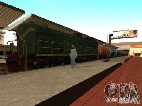 2 wagons pour GTA San Andreas vue de droite