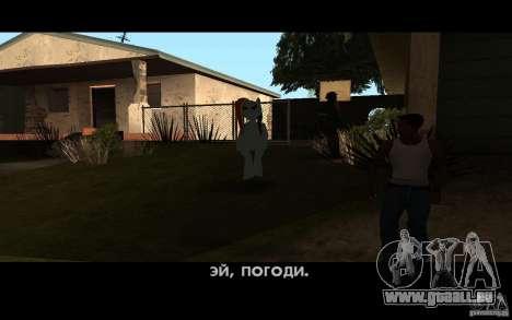 Rainbow Dash Skin für GTA San Andreas dritten Screenshot