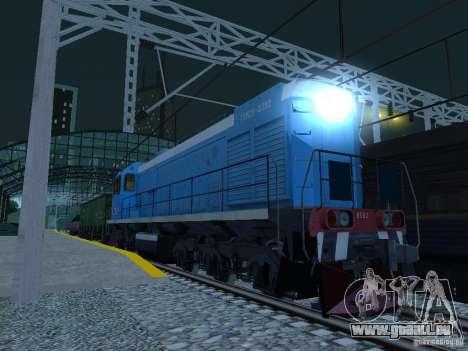 Eisenbahn-Änderung III für GTA San Andreas siebten Screenshot