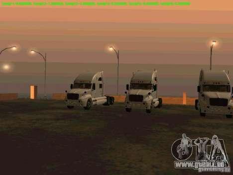 Peterbilt 387 pour GTA San Andreas laissé vue