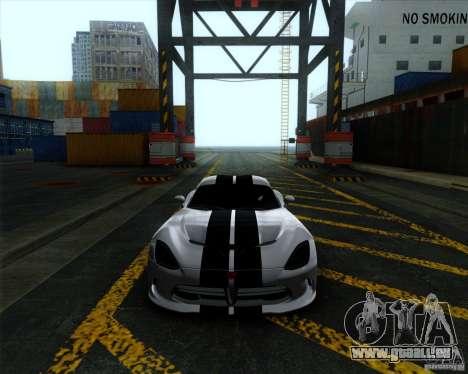 Dodge Viper SRT 2013 für GTA San Andreas linke Ansicht