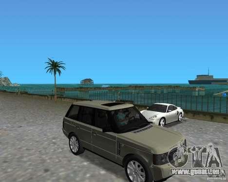 Rang Rover 2010 pour GTA Vice City