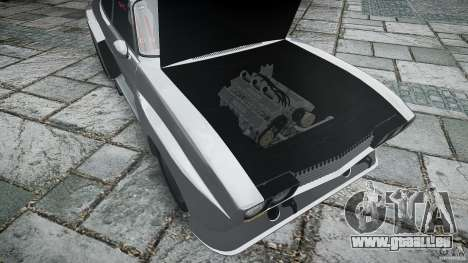 Ford Capri RS 1974 pour GTA 4 est une vue de dessous