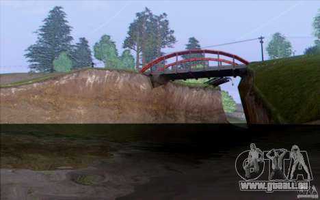 Campagne HQ pour GTA San Andreas deuxième écran