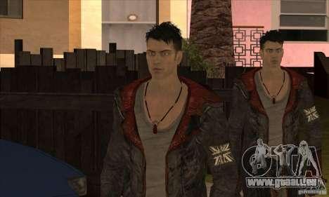 Dante de Devil May Cry pour GTA San Andreas