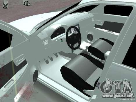 Lada Priora Adidas pour GTA San Andreas laissé vue