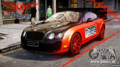 Bentley Continental SS 2010 Le Mansory [EPM] pour GTA 4