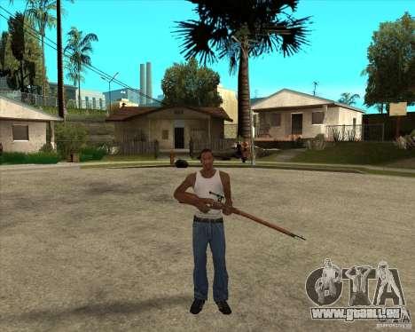 Armes de call of duty pour GTA San Andreas quatrième écran