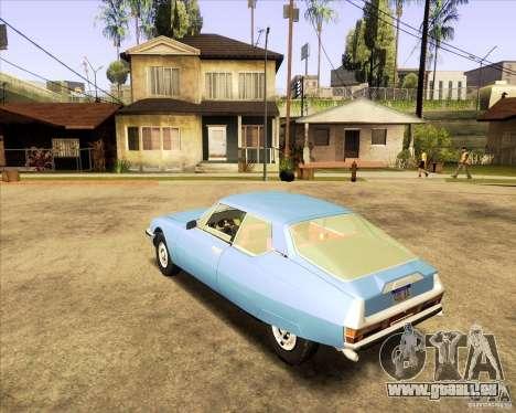 Citroen SM 1971 pour GTA San Andreas sur la vue arrière gauche