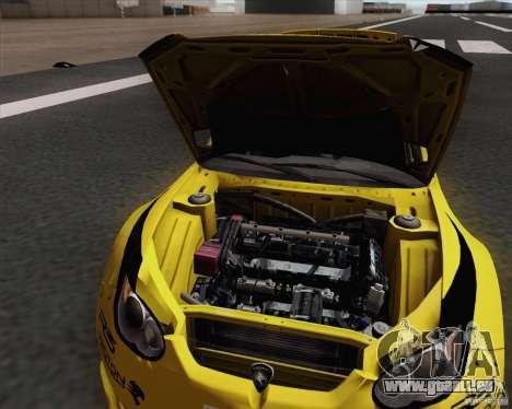 Satria Neo S2000 pour GTA San Andreas vue arrière