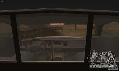Ford Crown Victoria Georgia Police pour GTA San Andreas vue de droite