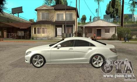 Mercedes-Benz CLS 350 2011 pour GTA San Andreas laissé vue