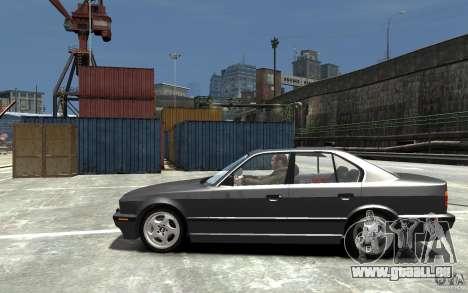 BMW 540i E34 v3.0 pour GTA 4 est une gauche