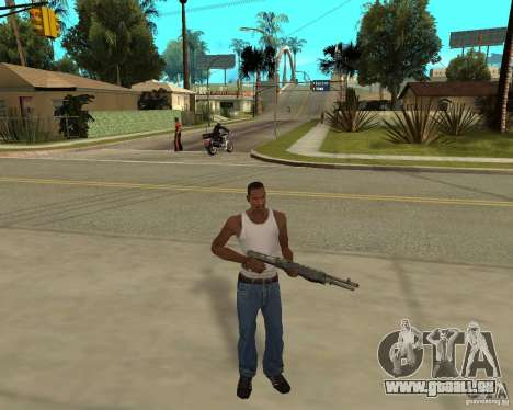 Armes de STALKERa pour GTA San Andreas troisième écran