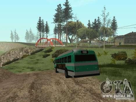 Bus de GTA 4 pour GTA San Andreas vue de droite