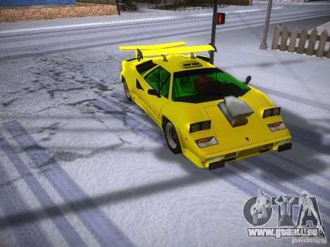 Lamborghini Countach LP5000 für GTA San Andreas
