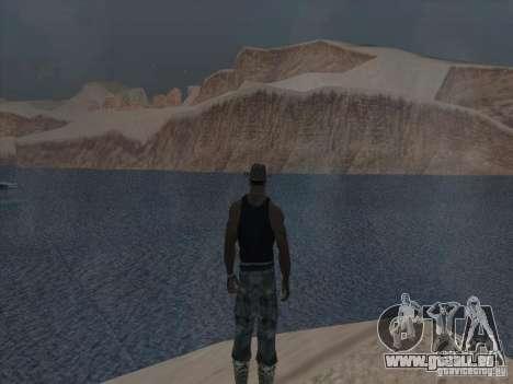 Beaux nuages et plus pour GTA San Andreas sixième écran