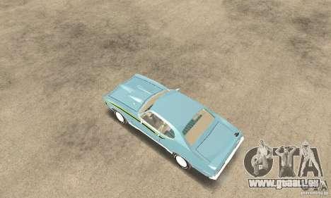 Pontiac GTO The Judge für GTA San Andreas zurück linke Ansicht