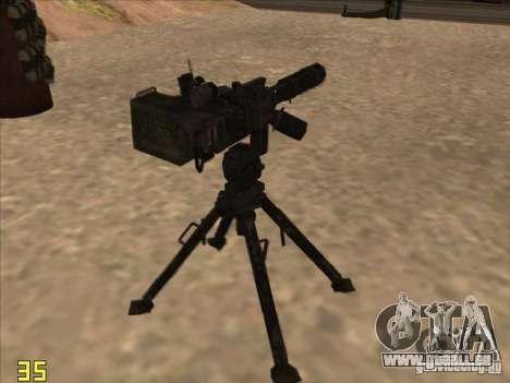 Turrel′ pour GTA San Andreas deuxième écran