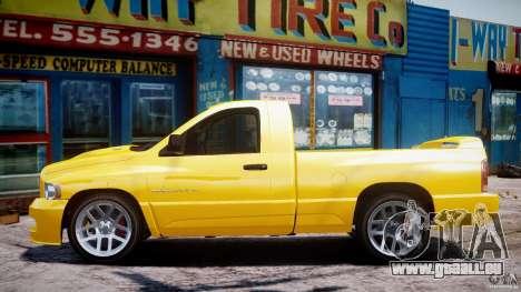 Dodge Ram SRT-10 2003 1.0 pour GTA 4 est une vue de l'intérieur