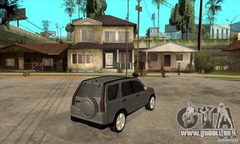 Honda CRV (MK2) pour GTA San Andreas vue de droite