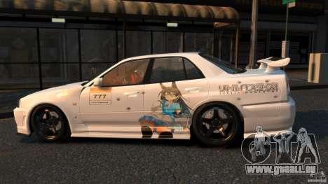 Nissan Skyline ER34 Nismo Z Tune für GTA 4 linke Ansicht