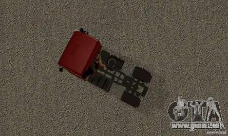 KAMAZ 5460 Haut 2 für GTA San Andreas Rückansicht