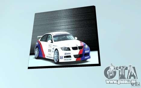 Concessionnaire BMW pour GTA San Andreas cinquième écran