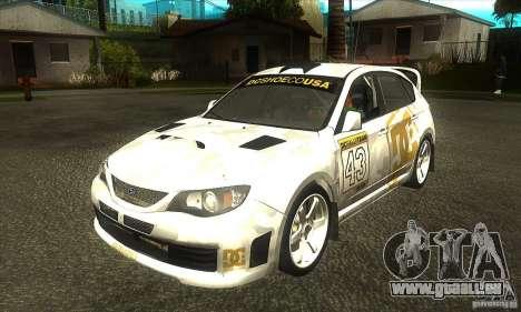 Subaru Impreza WRX STi DC Shoes von DIRT 2 für GTA San Andreas
