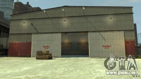 Red Bull Factory pour GTA 4 cinquième écran