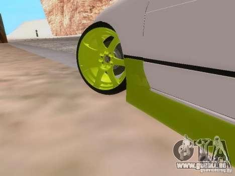 Nissan Silvia S13 Drift Style für GTA San Andreas Innen