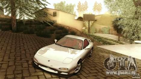 Mazda RX-7 FD 1991 pour GTA San Andreas laissé vue