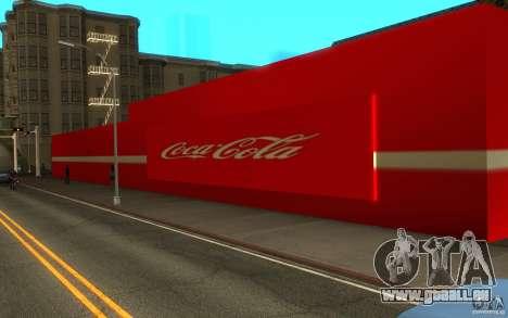 Coca Cola Market pour GTA San Andreas deuxième écran