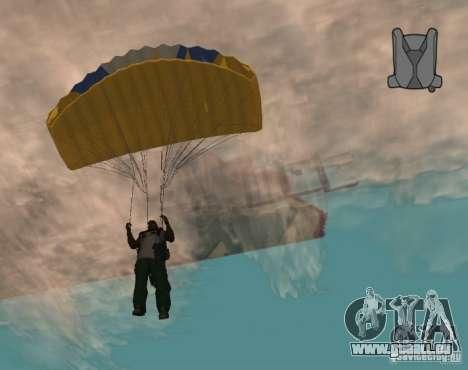 Chute sans fin pour GTA San Andreas troisième écran