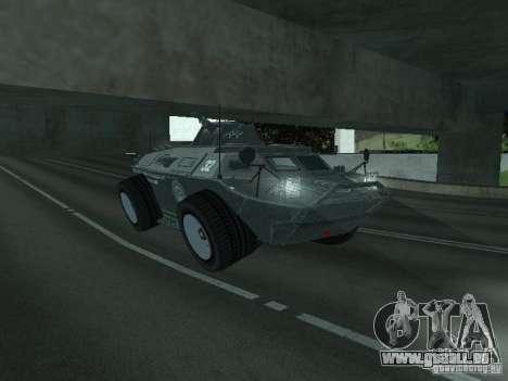 APC de GTA TBoGT FIV pour GTA San Andreas vue de côté