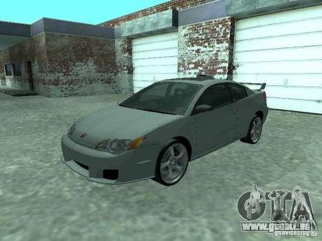 Saturn Ion Quad Coupe 2004 pour GTA San Andreas vue de dessus