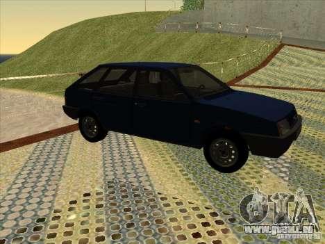 Vaz 2109 Drain V2 pour GTA San Andreas sur la vue arrière gauche