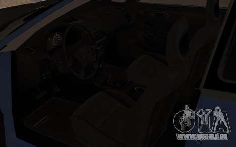Acura Integra Type R 2000 pour GTA San Andreas vue arrière