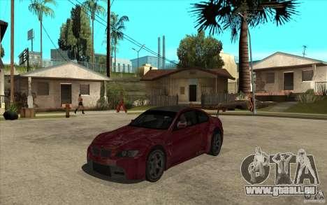 BMW M3 2009 für GTA San Andreas