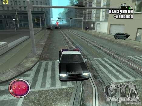 Outre le HUD de GTA IV pour GTA San Andreas