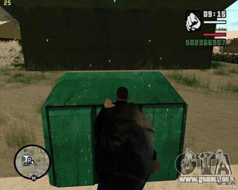 Papierkorb zu machen für GTA San Andreas siebten Screenshot