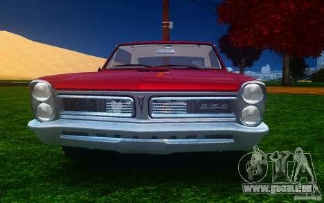 Pontiac GTO 1965 FINAL für GTA 4 obere Ansicht