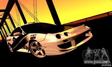 Acura Integra Type R pour GTA San Andreas sur la vue arrière gauche