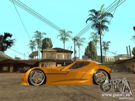 Gillet Vertigo für GTA San Andreas linke Ansicht