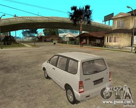 VAZ 2120 « Nadejda » pour GTA San Andreas laissé vue