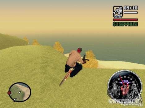 Speed Udo pour GTA San Andreas troisième écran