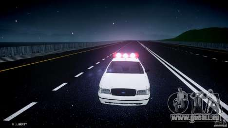 Ford Crown Victoria New Jersey State Police für GTA 4
